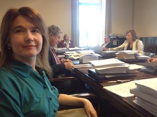 Talousvaliokunnassa